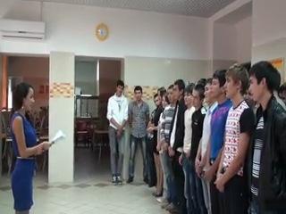 Клятва первокурсников Башкортостана в Москве 2012